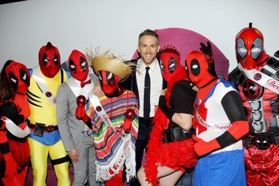 "{special instructions) {city}, NY - 20th Century Fox Presents the New York Fan Event for ""DEADPOOL"". The Film Opens Nationwide on February 12th, 2016  -PICTURED: Ryan Reynolds with DEADPOOL Pageant Winners -PHOTO by: Marion Curtis/Starpix -Filename: MC_16_01061022.JPG -Location: AMC Empire Times Square  Editorial - Rights Managed Image - Please contact www.startraksphoto.com for licensing fee Startraks Photo New York, NY Image may not be published in any way that is or might be deemed defamatory, libelous, pornographic, or obscene. Please consult our sales department for any clarification or question you may have.  Startraks Photo reserves the right to pursue unauthorized users of this image. If you violate our intellectual property you may be liable for actual damages, loss of income, and profits you derive from the use of this image, and where appropriate, the cost of collection and/or statutory damages.{special instructions) {city}, NY - 20th Century Fox Presents the New York Fan Event for ""DEADPOOL"". The Film Opens Nationwide on February 12th, 2016  -PICTURED: Ryan Reynolds with DEADPOOL Pageant Winners -PHOTO by: Marion Curtis/Starpix -Filename: MC_16_01061022.JPG -Location: AMC Empire Times Square  Editorial - Rights Managed Image - Please contact www.startraksphoto.com for licensing fee Startraks Photo New York, NY Image may not be published in any way that is or might be deemed defamatory, libelous, pornographic, or obscene. Please consult our sales department for any clarification or question you may have.  Startraks Photo reserves the right to pursue unauthorized users of this image. If you violate our intellectual property you may be liable for actual damages, loss of income, and profits you derive from the use of this image, and where appropriate, the cost of collection and/or statutory damages."