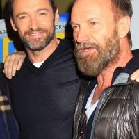 "NY - Hugh Jackman Hosts A Screening of ""Eddie The Eagle"" . -PICTURED: Hugh Jackman -PHOTO by: Dave Allocca/Starpix -Filename: DA_16_701204.JPG -Location: Landmark Sunshine Cinema"