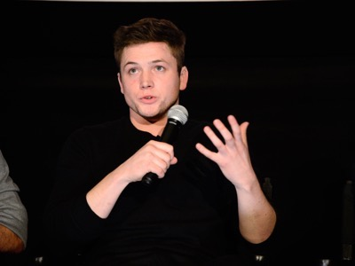 "Taron Egerton seen at Twentieth Century Fox Special Screening of ""Eddie The Eagle"" on Thursday, January 28, 2016, in Los Angeles, CA. (Photo by Dan Steinberg/Invision for Twentieth Century Fox/AP Images)"