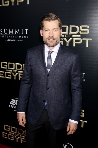 "- New York, NY - 2/24/16 - Summit Entertainment - A Lionsgate Company Presents the New York Premiere of ""Gods of Egypt""   -PICTURED: Nikolaj Coster-Waldau -PHOTO by: Marion Curtis/StarPix -FILENAME: MC_16_01084028.JPG -LOCATION: AMC Lowes Lincoln Square 13  Startraks Photo New York,  NY For licensing please call 212-414-9464  or email sales@startraksphoto.com Image may not be published in any way that is or might be deemed defamatory, libelous, pornographic, or obscene. Please consult our sales department for any clarification or question you may have. Startraks Photo reserves the right to pursue unauthorized users of this image. If you violate our intellectual property you may be liable for actual damages, loss of income, and profits you derive from the use of this image, and where appropriate, the cost of collection and/or statutory damages."