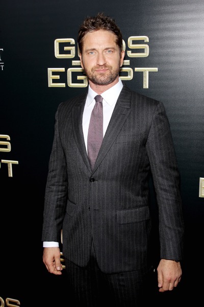 "- New York, NY - 2/24/16 - Summit Entertainment - A Lionsgate Company Presents the New York Premiere of ""Gods of Egypt""   -PICTURED: Gerard Butler -PHOTO by: Marion Curtis/StarPix -FILENAME: MC_16_01084058.JPG -LOCATION: AMC Lowes Lincoln Square 13  Startraks Photo New York,  NY For licensing please call 212-414-9464  or email sales@startraksphoto.com Image may not be published in any way that is or might be deemed defamatory, libelous, pornographic, or obscene. Please consult our sales department for any clarification or question you may have. Startraks Photo reserves the right to pursue unauthorized users of this image. If you violate our intellectual property you may be liable for actual damages, loss of income, and profits you derive from the use of this image, and where appropriate, the cost of collection and/or statutory damages."
