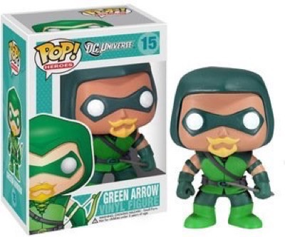 FUNKO POP 2013 DC UNIVERSE GREEN ARROW #15 most expensive funko pop figures 10