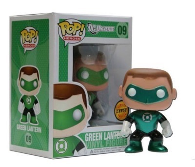 DC Comics - Green Lantern Chase Metallic Exclusive most expensive funko pop figures 12