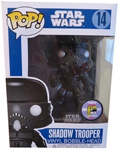 San Diego Comic Con 2011 EXCLUSIVE FUNKO POP STAR WARS SHADOW TROOPER most expensive funko pop figures 4