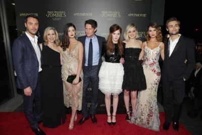 pride and prejudice and zombies los angeles premiere1