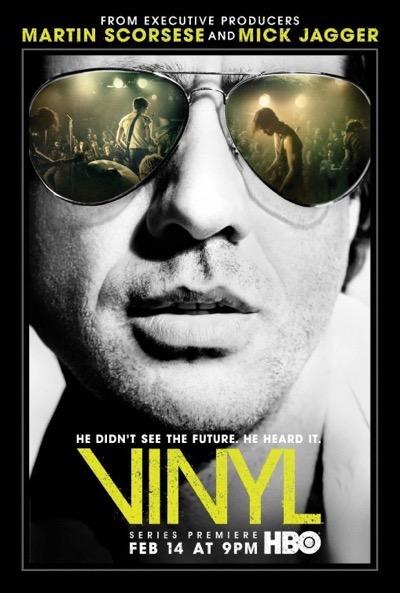 vinyl television poster
