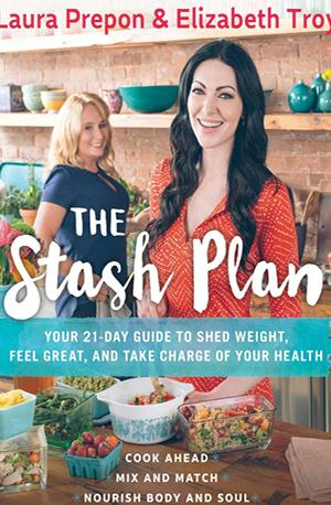 Laura Prepon The Stash Plan signed book
