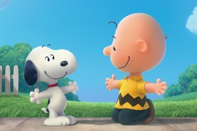 The Peanuts Movie press still rare promo