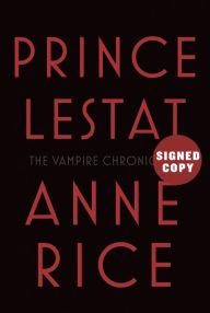 Prince Lestat signed autograph book