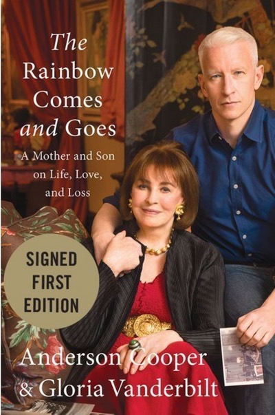 Anderson Cooper kelly clarkson signed books 1