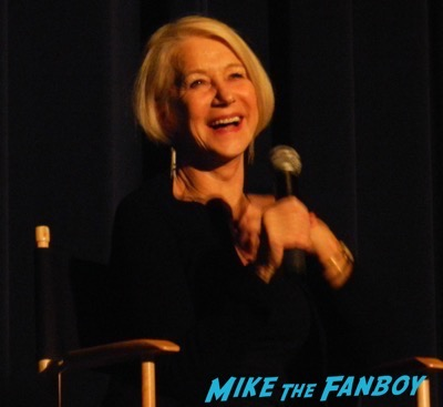 helen mirren Dissing Fans Trumbo q and a 22