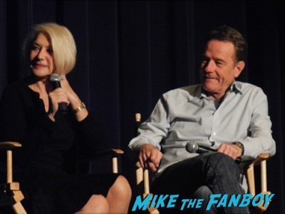 Bryan Cranston Helen Mirren Dissing Fans Trumbo q and a 24