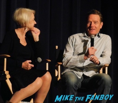 Bryan Cranston Helen Mirren Dissing Fans Trumbo q and a 5