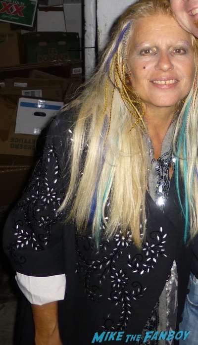 Dale Bozzio from Missing Persons fan photo