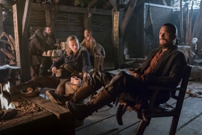 Vikings season 4 yol Erlendur (Edvin Endre) and Kalf (Ben Robson), cr_ Jonathan Hession