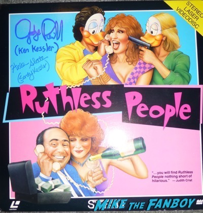 Helen Slater signed autograph ruthless people poster