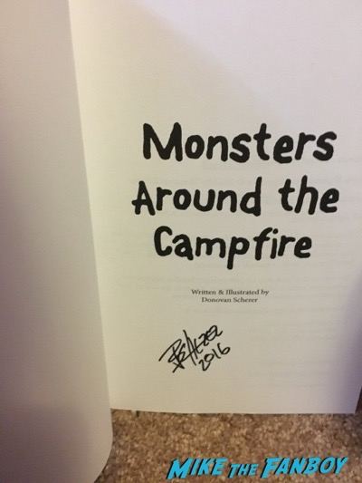 Donovan Scherer Monsters around the campfire Heroes and Villians Fanfest 2016 7