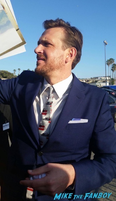 jason segel signing autographs Independant spirit awards 201618