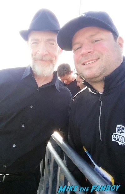 JK Simmons fan photo rare Independant spirit awards 20162