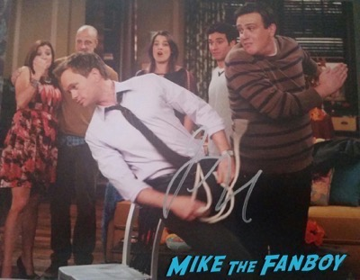 Jason Segel signed autograph photo slap himym