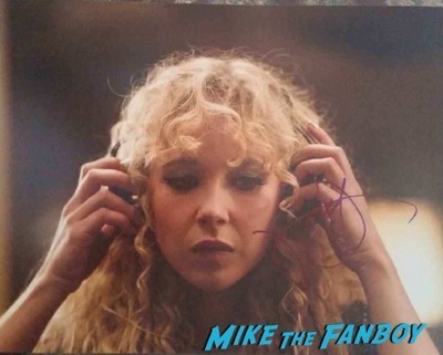 Juno temple signed autograph photo psa