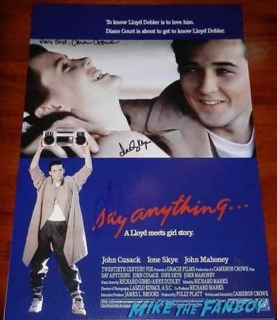 Ione Skye signed autograph say Ione Skye signed autograph say anything... mini poster 5... mini poster 5