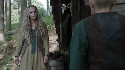 Maude hirst Vikings helga interview press still 5