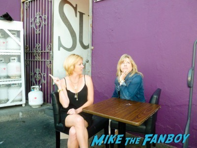 My Friend Kim and I Re-Creating Drama in the Back Smoking Area 2