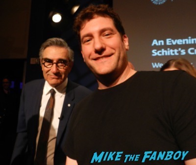 eugene levy fan photo selfie