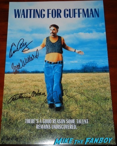 waiting for guffman signed autograph poster eugene levy catherine O'Hara