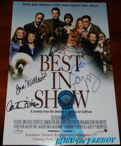 Best In Show signed autograph poster eugene levy catherine O'Hara