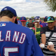 holland signing autographs spring training