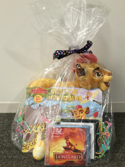 Hop to the music soundtrack giveaway basket