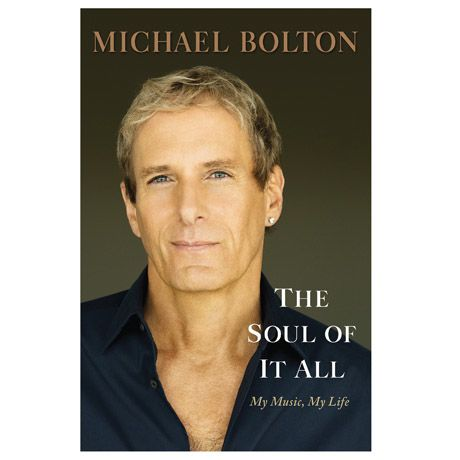 Michael Bolton signed book