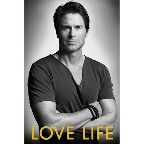 Rob Lowe signed book