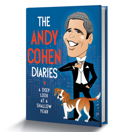Andy Cohen signed book