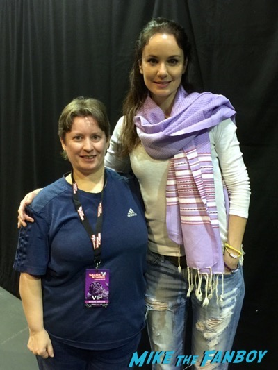 sarah wayne callies fan photo Walker Stalker Con14