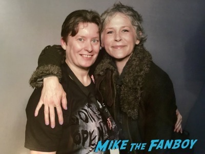 melissa mcbride fan photo Walker Stalker Con2