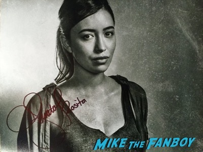 Alanna Masterson signed autograph photo Walker Stalker Con4