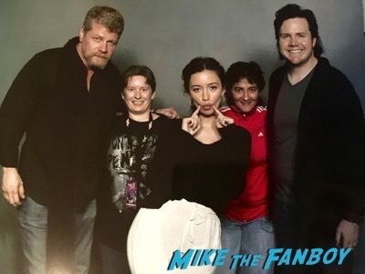 michael cudlitz josh mcdermitt fan photo Walker Stalker Con6