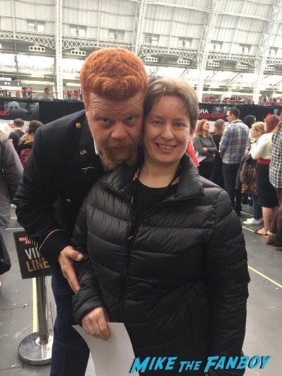 michael cudlitz fan photo Walker Stalker Con7
