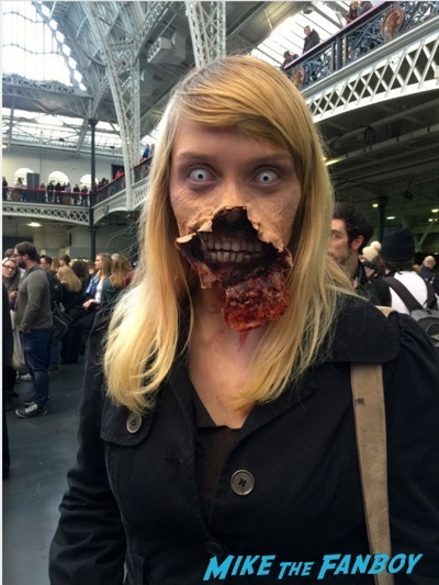 cosplayers walking dead Walker Stalker Con13