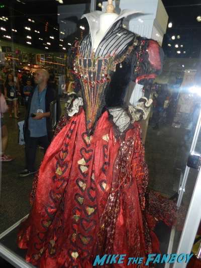 Alice Through the Looking Glass costume prop the queen of hearts