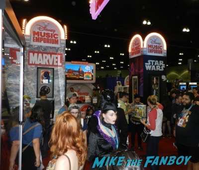 disney music emporium booth wondercon