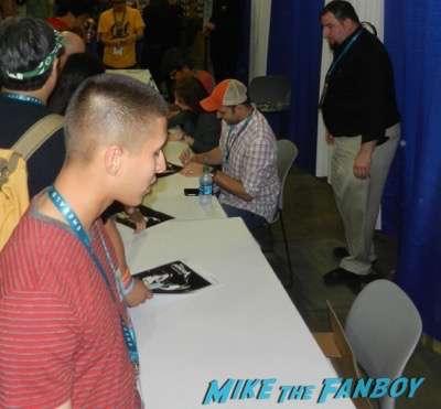 Voltron Autograph signing Wondercon