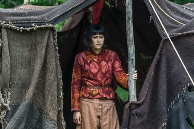Vikings season 4 episode 7 Yidu, played by Dianne Doane (cr_ Jonathan Hession _ HISTORY)