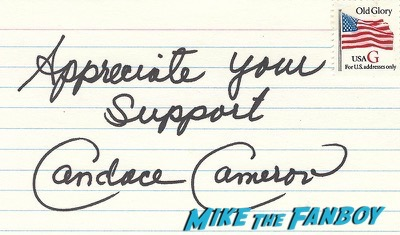 cameron_candace signed autograph rare