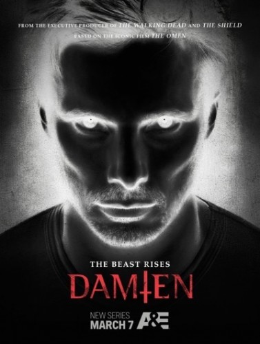 damien promo poster a and e season one