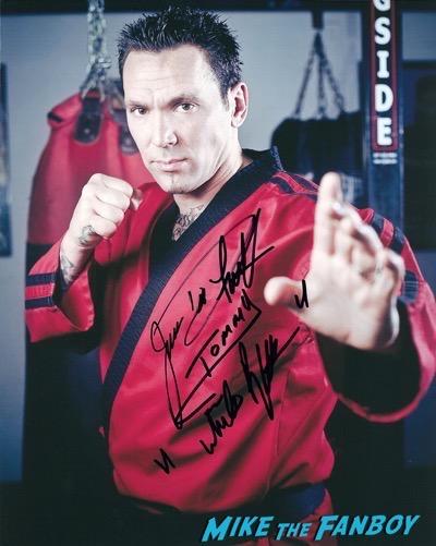 jason david frank signed autograph photo 1