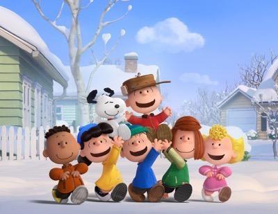 The Peanuts Movie press still rare promo